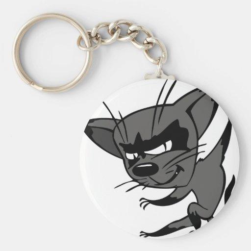 Sneaky Cat Key Chain