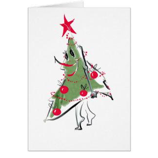 Sneaky Christmas Tree Card