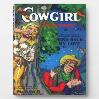 Sneaky Cowgirl Plaque
