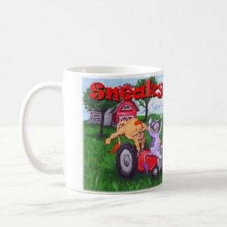 Sneaky Cows play Hooky Coffee Mug