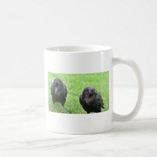 Sneaky Crows Coffee Mug