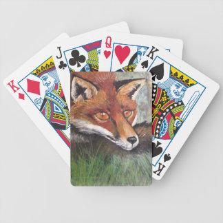 Sneaky Fox Poker Cards