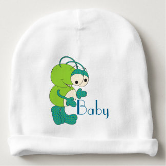 Sneaky Martian Personalized Baby Beanie