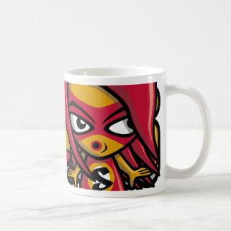 Sneaky Mascot Coffee Mugs