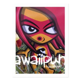 Sneaky Mascot Postcard