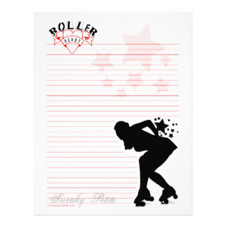 Sneaky Petite Silhouette Stationery