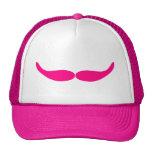Sneaky Pink Mustache Trucker Hat