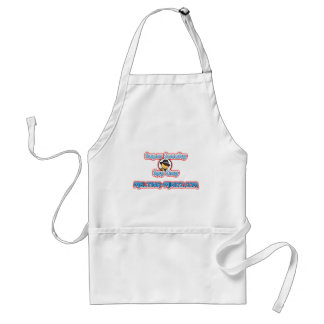 Sneaky Red Eyes Adult Apron