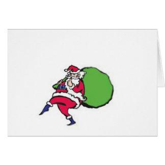 Sneaky Santa Card
