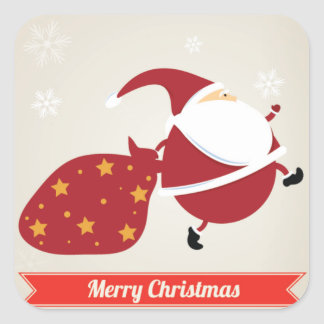 Sneaky Santa Stickers