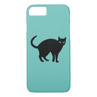 Sneaky Shadow Cat iPhone Case