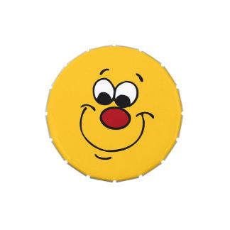 Sneaky Smiley Face Grumpey Candy Tin