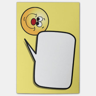 Sneaky Smiley Face Grumpey Post-it® Notes