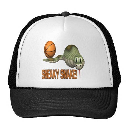 Sneaky Snake Trucker Hat