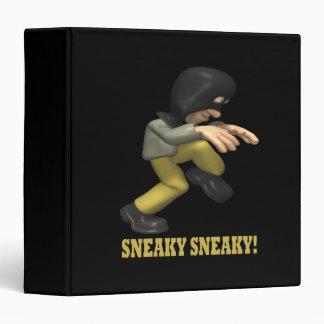 Sneaky Sneaky 3 Ring Binder