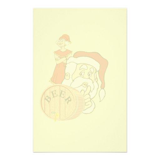 Sneaky Sneaky Santa Paper Stationery Paper