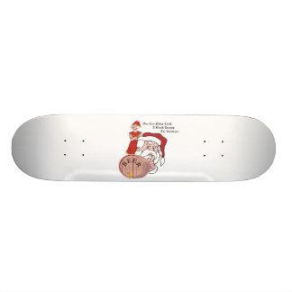 Sneaky Sneaky Santa Skate Board Decks