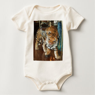 Sneaky Tiger Baby Bodysuit