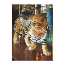 Sneaky Tiger Canvas Print