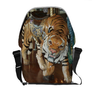 Sneaky Tiger Courier Bag