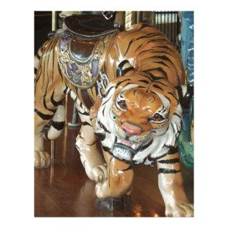 Sneaky Tiger Letterhead