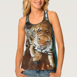 Sneaky Tiger Multi-Color Tank Top