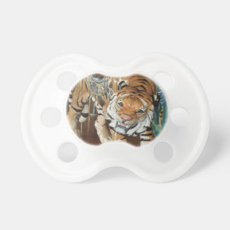 Sneaky Tiger Pacifier