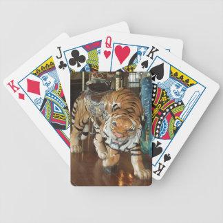 Sneaky Tiger Poker Deck