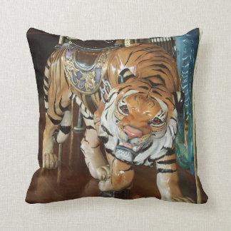 Sneaky Tiger Throw Pillow