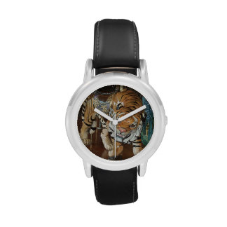 Sneaky Tiger Wrist Watches