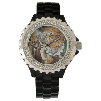 Sneaky Tiger Wrist Watch