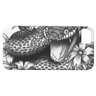 SneakySnake - white iPhone SE/5/5s Case