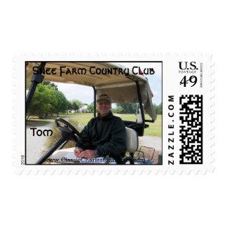 Snee Farm Country Club Stamp