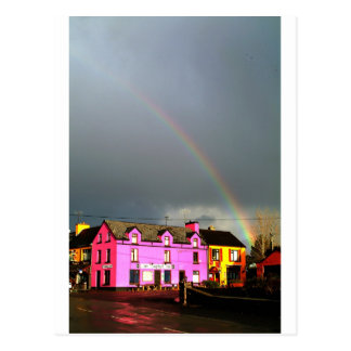 Sneem Rainbow Ring of Kerry Postcard