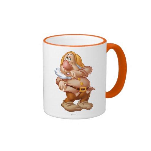 Sneezy 3 Ringer Coffee Mug
