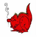 Sneezy el dragón esculturas fotograficas