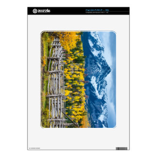 Sneffels Mountain Corral in the Fall - Colorado Skins For The iPad