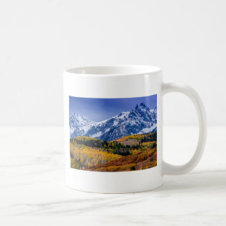 Sneffels Range Fall Sunrise - Colorado Coffee Mug
