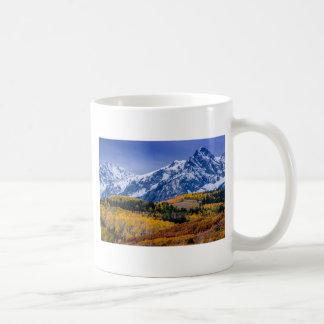 Sneffels Range Fall Sunrise - Colorado Coffee Mug