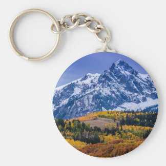 Sneffels Range Fall Sunrise - Colorado Keychain