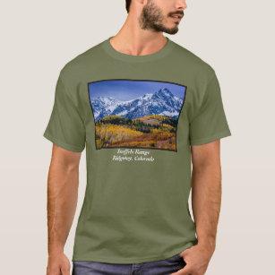 e33c86200ee Sneffels Range Fall Sunrise - Colorado T-Shirt