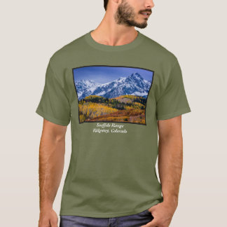 Sneffels Range Fall Sunrise - Colorado T-Shirt