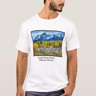 Sneffels Range Ranch In Fall - Colorado T-Shirt