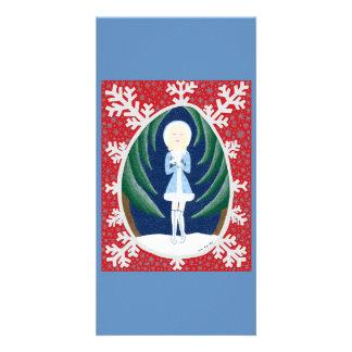 Sneguorchka (serie de la moda del cuento de hadas  tarjeta personal