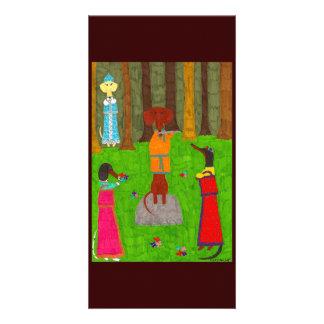 Snegurochka Card