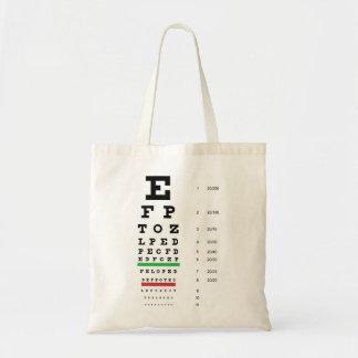 Snellen Eye Chart Bag