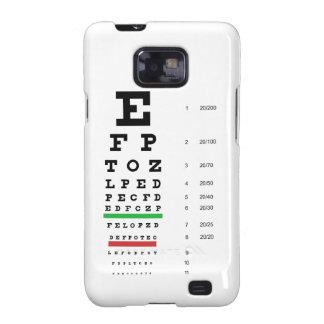 Snellen Eye Chart Galaxy SII Case