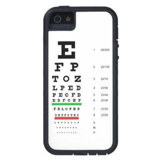 Snellen Eye Chart iPhone 5 Cover