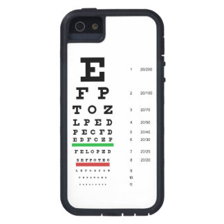Snellen Eye Chart Case For iPhone SE/5/5s