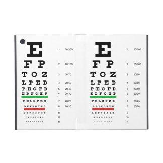 Snellen Eye Chart iPad Mini Case